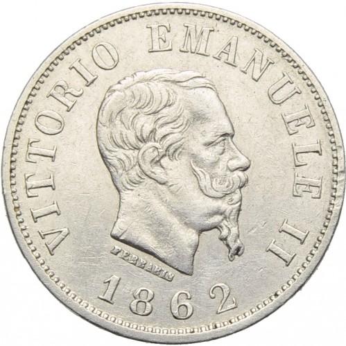 50 centesimi 1861 1862 italia valore della moneta for Moneta 50 centesimi