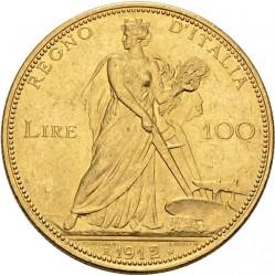 العملة > 100ليرة, 1910-1912 - إيطاليا  - reverse