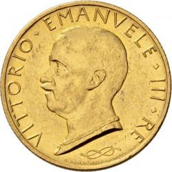 Moneta > 100lirów, 1931-1933 - Włochy  - obverse