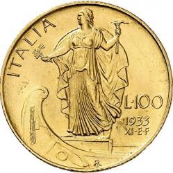 Moneta > 100lirų, 1931-1933 - Italija  - reverse