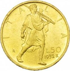العملة > 50ليرة, 1931-1933 - إيطاليا  - reverse