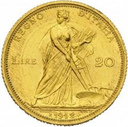 Moneda > 20liras, 1910-1912 - Italia  - reverse
