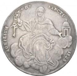 """Монета > 1скудо, 1823 - Папская область  (Отметка монетного двора: """"R"""" - Рим) - reverse"""