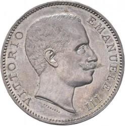 Монета > 5лири, 1901 - Италия  - obverse