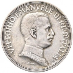العملة > 5ليرة, 1914 - إيطاليا  - obverse