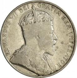 Монета > 18піастрів, 1907 - Кіпр  - obverse