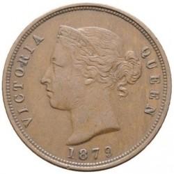 Монета > 1пиастр, 1879-1900 - Кипр  - obverse
