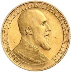 Νόμισμα > 20Φράγκα, 1930 - Λίχτενσταϊν  - obverse