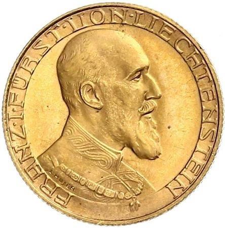 10 Franken 1930 Liechtenstein Münzen Wert Ucoinnet