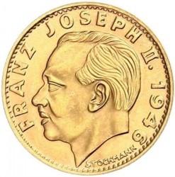 Монета > 10франків, 1946 - Ліхтенштейн  - obverse