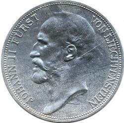 Монета > 2франка, 1924 - Ліхтенштейн  - obverse