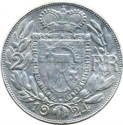 العملة > 2فرنكات, 1924 - ليختنشتاين  - reverse