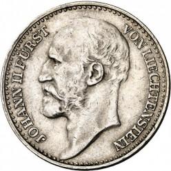 العملة > ١فرنك, 1924 - ليختنشتاين  - obverse