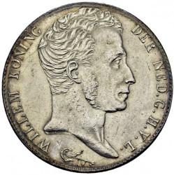 Monedă > 3guldeni, 1818-1832 - Regatul Țărilor de Jos  - obverse