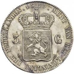 Monedă > 3guldeni, 1818-1832 - Regatul Țărilor de Jos  - reverse