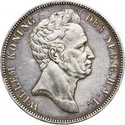 錢幣 > 1盾, 1840 - 荷蘭  - obverse