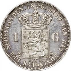 錢幣 > 1盾, 1840 - 荷蘭  - reverse