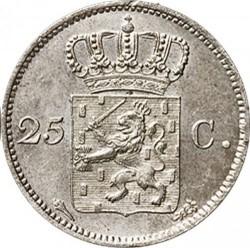 錢幣 > 25分, 1819-1830 - 荷蘭  - reverse