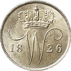 錢幣 > 10分, 1819-1828 - 荷蘭  - obverse