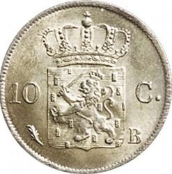 錢幣 > 10分, 1819-1828 - 荷蘭  - reverse