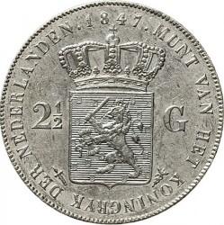 Münze > 2½Gulden, 1841-1849 - Niederlande  - reverse