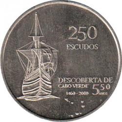 Moneda > 250escudos, 2010 - Cap Verd  (35è aniversari de l'Independència) - obverse