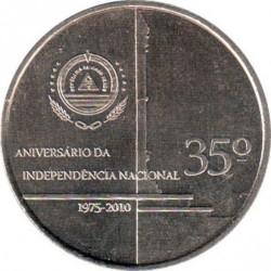 Moneda > 250escudos, 2010 - Cap Verd  (35è aniversari de l'Independència) - reverse