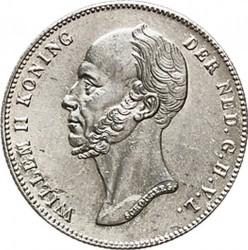 Münze > ½Gulden, 1847-1848 - Niederlande  - obverse