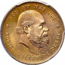 Munt > 10gulden, 1876-1889 - Nederland  - obverse