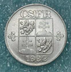 Кованица > 10хелера, 1991-1992 - Чехословачка  - obverse