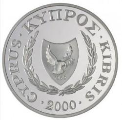 Монета > 1фунт, 2000 - Кипр  (Кипрская каменка) - obverse