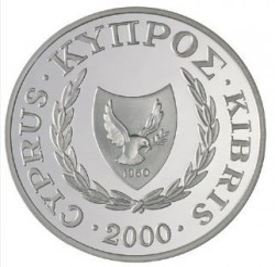 Монета > 1фунт, 2000 - Кипр  (Кипрская каменка) - reverse