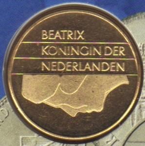 5 Gulden 2001 Niederlande Münzen Wert Ucoinnet