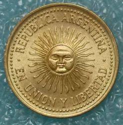Moneta > 5sentavai, 1992-2005 - Argentina  - reverse