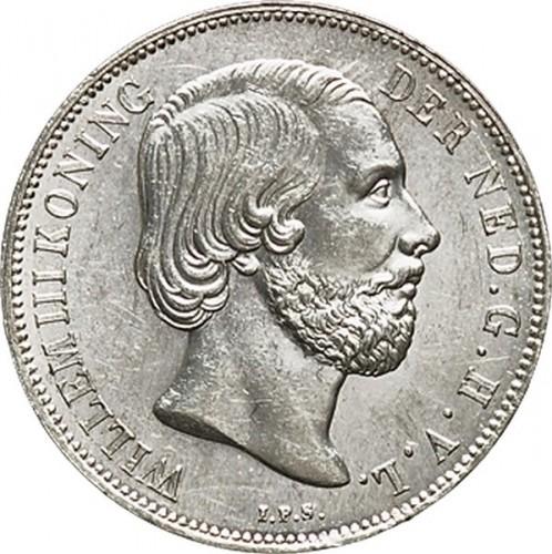 1 Gulden 1851 1866 Niederlande Münzen Wert Ucoinnet
