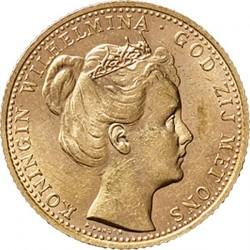 Monedă > 10guldeni, 1898 - Regatul Țărilor de Jos  - obverse