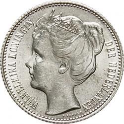 Monedă > ½gulden, 1904-1909 - Regatul Țărilor de Jos  - obverse