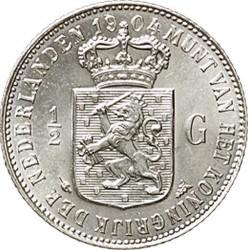 Monedă > ½gulden, 1904-1909 - Regatul Țărilor de Jos  - reverse