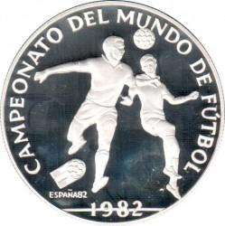 Moneta > 10balboas, 1982 - Panama  (XII Coppa del Mondo FIFA, Spagna 1982) - reverse