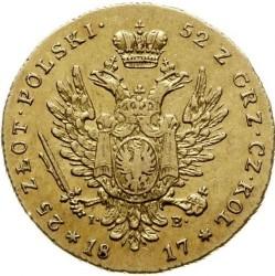 Монета > 25злотых, 1817-1819 - Польша  - reverse
