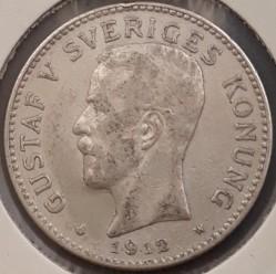 Mynt > 2kroner, 1912 - Sverige  - obverse