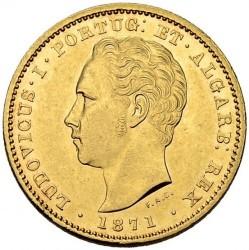 Кованица > 5000реиса, 1867-1889 - Португал  - obverse