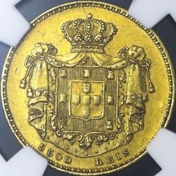 Монета > 2500рейса, 1851 - Португалия  - reverse