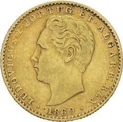Монета > 2000рейса, 1868-1888 - Португалия  - obverse