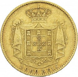 Монета > 2000рейса, 1868-1888 - Португалия  - reverse