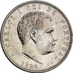 Монета > 1000рейса, 1899 - Португалия  - obverse
