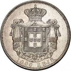 Монета > 1000рейса, 1899 - Португалия  - reverse