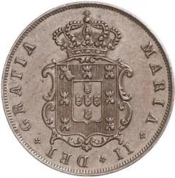 Монета > 5рейса, 1840-1853 - Португалия  - obverse
