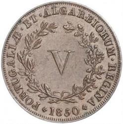 Монета > 5рейса, 1840-1853 - Португалия  - reverse