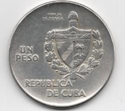 錢幣 > 1披索, 1934-1939 - 古巴  - obverse